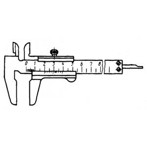 Штангенциркуль нониусный ШЦ-I 125 0.02