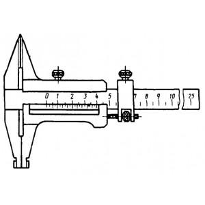Штангенциркуль нониусный ШЦ-II 1000 губ. 125мм. 0.05