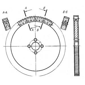 Пила сегментная для металла ф 1010 Z=120