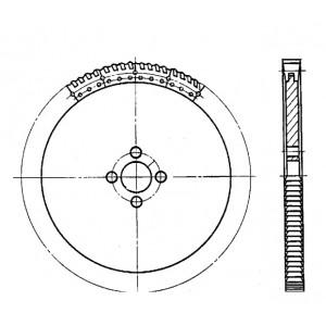 Пила сегментная для легких сплавов ф 1430 Z=72