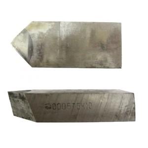 Ножи для торцевых фрез с углом 45°,60°,75° и 90° по ГОСТ 24359-80