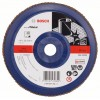 Bosch Лепестковый Шлифкруг X571 Best for Metal 180 мм K40 прям. пластик 2608607342