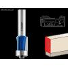 Фреза кромочная с нижним подшипником(3 лезвия), D= 12,7мм, рабочая длина-13мм, хв.-8мм, d-12,7мм, ЗУБР Профессионал
