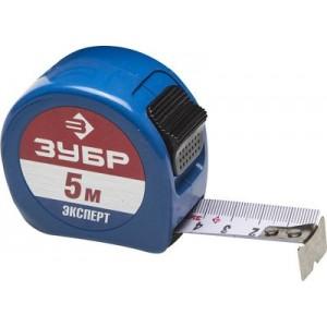 ЗУБР ЭКСПЕРТ Alu+  5м / 25мм ударопрочная профессиональная рулетка в металлическом корпусе