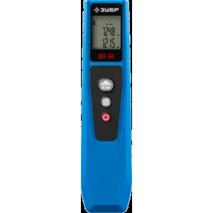 """Дальномер лазерный """"ДЛ-30"""" компактный, точность 2мм, дальность 30м, ЗУБР Эксперт 34935"""