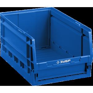 Ящик-лоток для хранения сборно-разборный ЛСР-15, 15 л, 420 х 270 х 200 мм, ЗУБР Профессионал