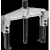 Съемник раздвижной 2-захватный с тонкими захватами, 100 мм, ЗУБР Профессионал 43313-170-100