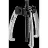 Съемник шарнирный 3-захватный с серповидными захватами, 160 мм, ЗУБР Профессионал 43323-160