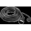 Удлинитель-шнур ПВС 207-Ш, 30 м, 2200 Вт, 1 гнездо, ПВС 2х0,75 мм2, ЗУБР